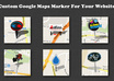 make you a custom google map marker for your website