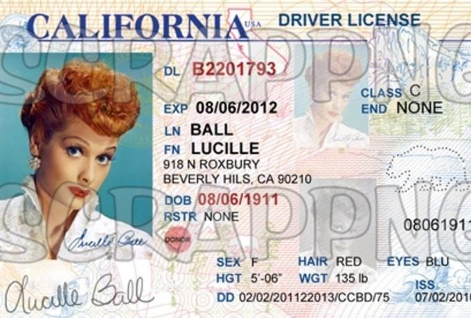 California Drivers License Font - forsaleload