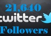 give you 21,640 + Twitter Followers on your any profile Link To Larger Your Twitters follower In 1 day Without Your Account Credentials