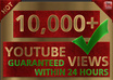 give you 10,000+ guaranteed high retention Youtube Views within 24 hours [Level 2]